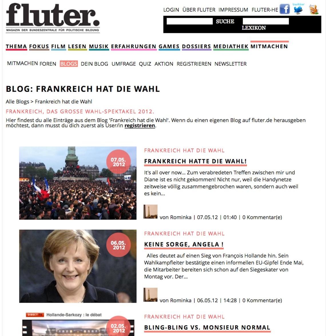 Wahl-Blog